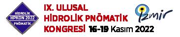 IX. Ulusal Hidrolik Pnömatik Kongresi ve Sergisi